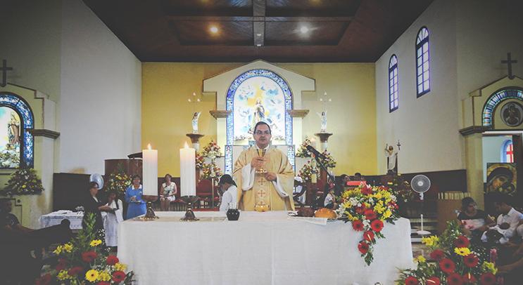 Missa de Páscoa com as Crianças