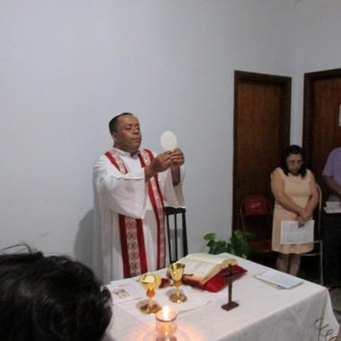 Missa e Visita da Imagem da Imaculada na Comunidade Espírito Santo 29/08/17