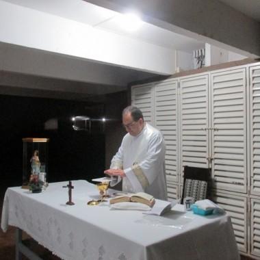 Visita e Missa da Imagem da Imaculada na Com. Mãe Rainha – 22/08/17