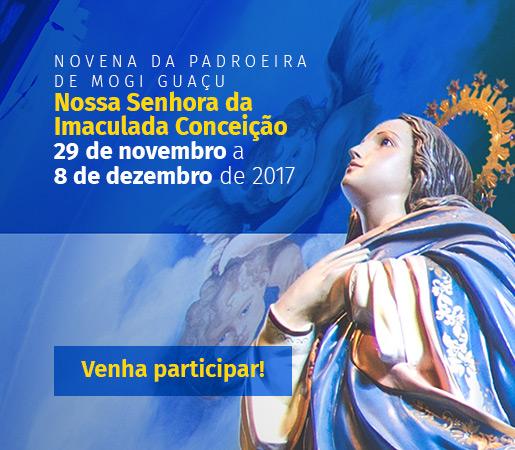 Novena a Nossa Senhora da Imaculada Conceição 2017