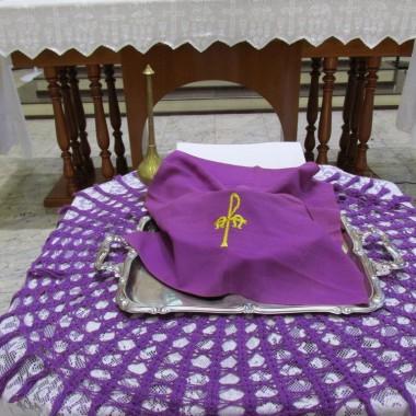 Missa de Quarta-Feira de Cinzas as 15h