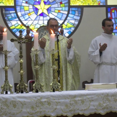 Missa de Domingo de Pascoa 10/4/2018