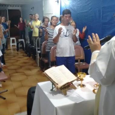 Missa na Comunidade  São João Evangelista dia 24/04/2018