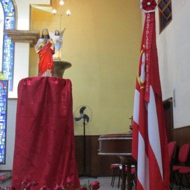 1º Dia do Tríduo em louvor ao Sagrado Coração de Jesus