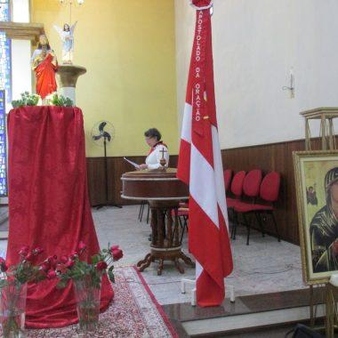 2º Dia do Tríduo do Sagrado Coração de Jesus na Matriz na Missa das 15h