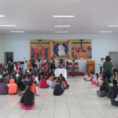 Encontro com as Crianças da Catequese 23/06/2018
