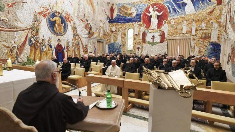 Pregação de Advento do Padre Raniero Cantalamessa