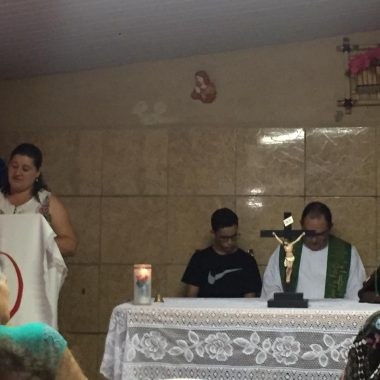 Missa na Comunidade N. Senhora De Fátima