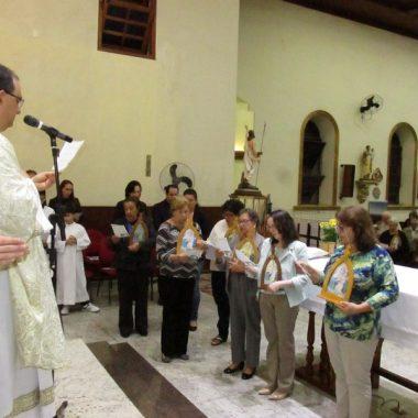 Missa com os Missionários da Mãe Rainha 18/05/2019