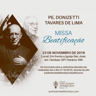 Missa de Beatificação do Pe. Donizete