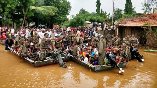 Índia: pesar do Papa pelas vítimas das chuvas de monções