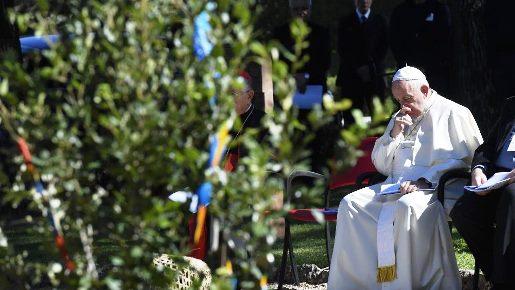 Papa consagra Sínodo para a Amazônia a São Francisco de Assis