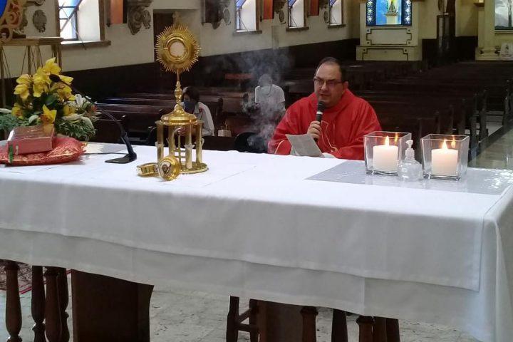 Missa em Louvor ao Sagrado Coração de Jesus 05/06/20
