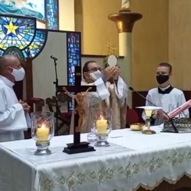 Festa da Divina Misericórdia na Missa das 18h