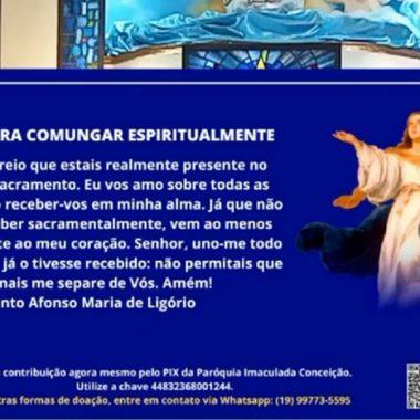 Missa Mãe Rainha e Sétimo Dia de Falecimento do Pe. Ivan