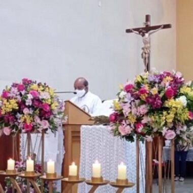 Missa em Louvor a N. Sra de Lá Salette e 3° Aniversário do Grupo das Mães que Oram por seus Filhos
