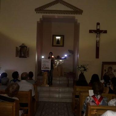Missa de Cinzas Realizada Na Capela Nossa Senhora Aparecida 06/03/2019