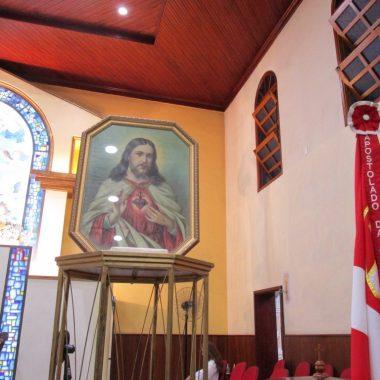 Missa da Chegada do Quadro Peregrino do Sagrado Coração de Jesus 03/03/19
