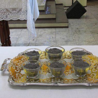 Missa de Quarta Feira de Cinzas na Igreja Matriz as 15h